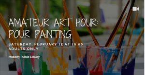 Amateur Art Hour: Pour Painting