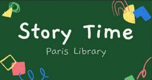 Story Time - Paris - 10:00 a.m. - 10:30 a.m.